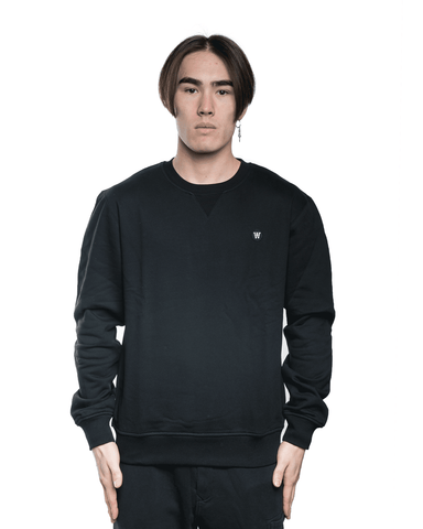 Wood Wood Tye Crewneck Black