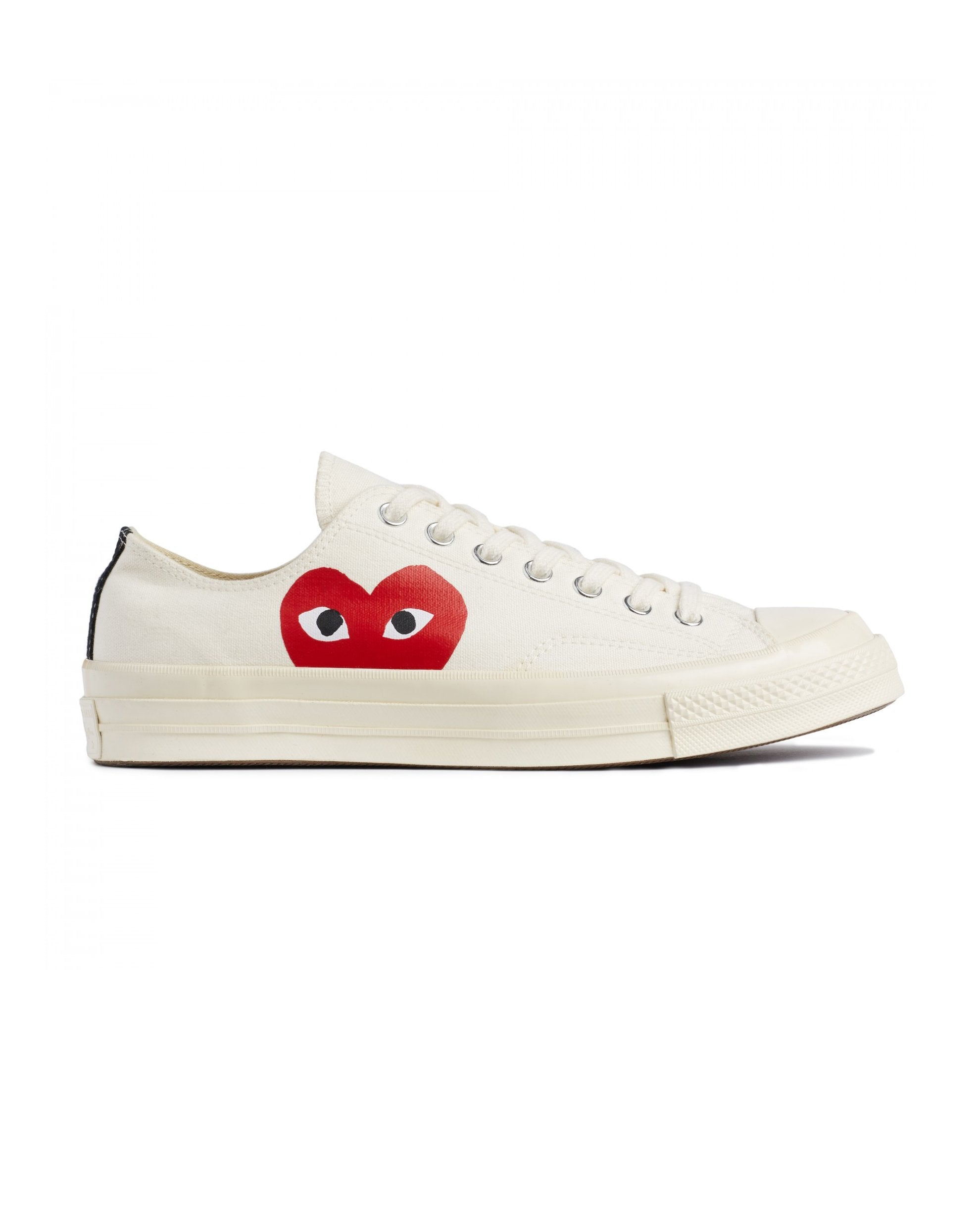 CDG PLAY x Converse CT70 Big Heart Low Top White