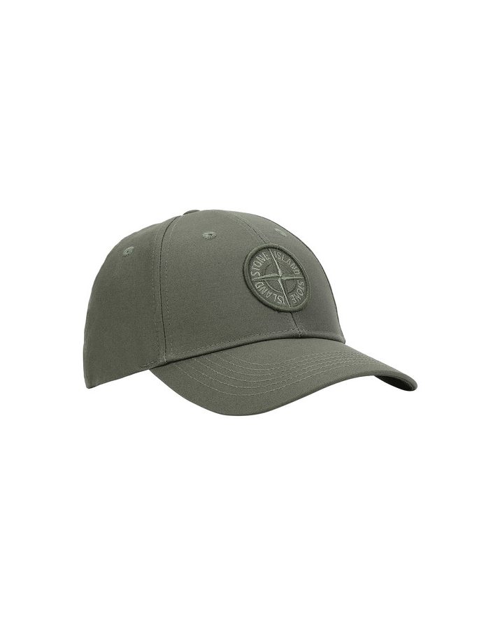 Stone Island Compass 6 Panel Hat Green