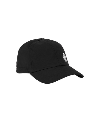 Stone Island Side Compass Hat Black