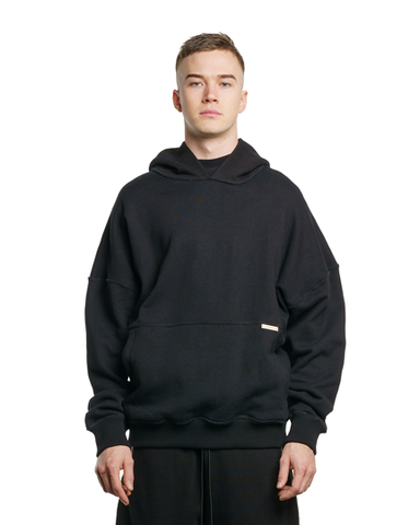 BANX Charged Hoodie Black/White