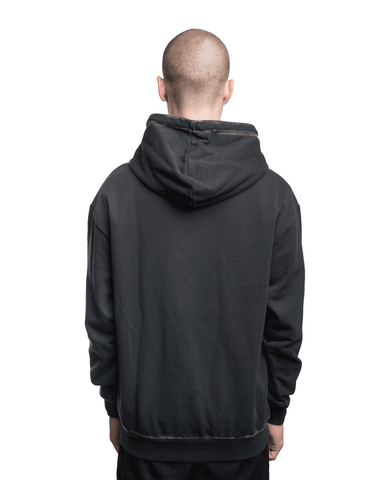 Boy London Towelling Hoodie Black