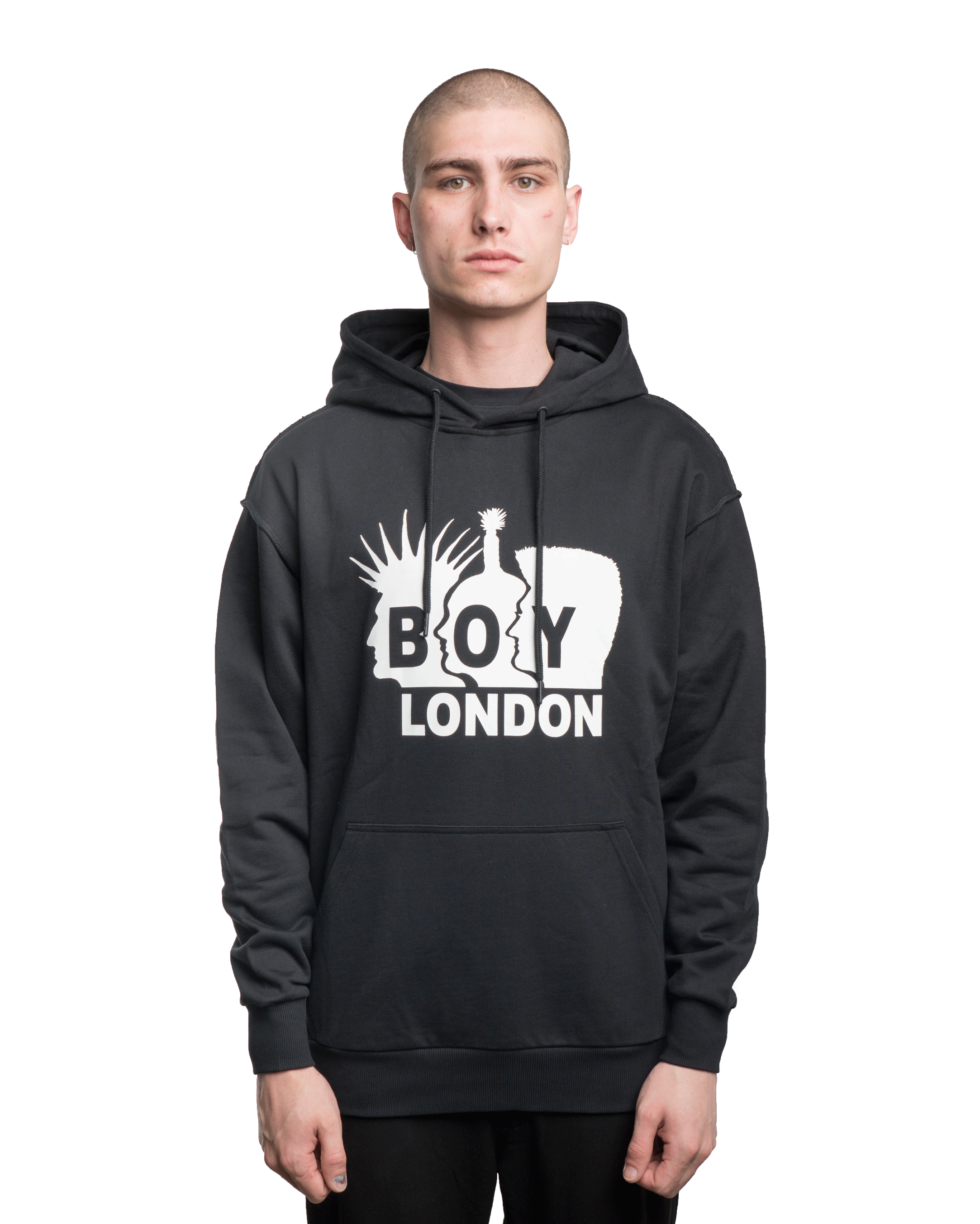 Boy London x Shane Gonzales Rockers Hoodie Black