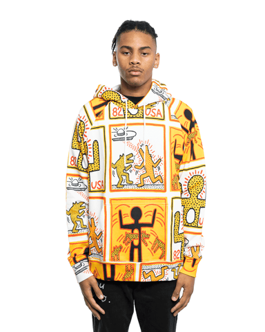 Etudes Racing All-Over Keith Haring Hoodie