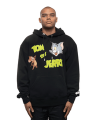 GCDS x Tom and Jerry Hoodie Black