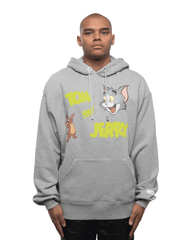 GCDS x Tom and Jerry Hoodie Grey