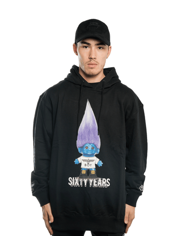 Boy London x Troll Hoodie Black