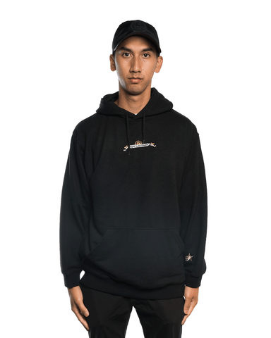 Come To My Church Logo Hoodie Black