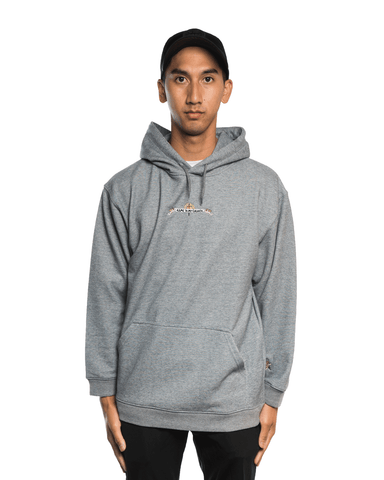 Come To My Church Logo Hoodie Grey