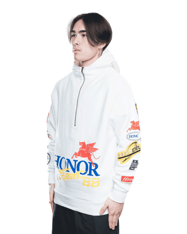Honor The Gift Honor Decal Hoodie Off-White