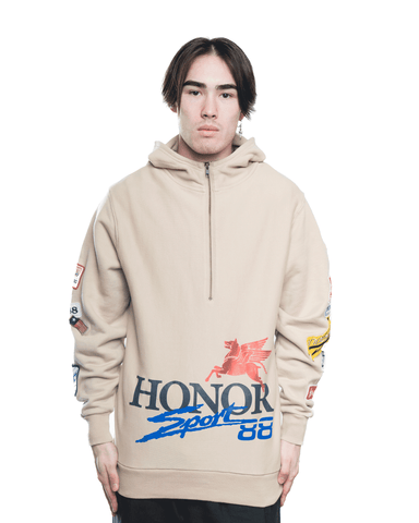 Honor The Gift Honor Decal Hoodie Khaki