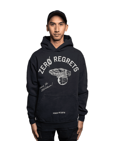 Honor The Gift Zero Regrets Hoodie Black