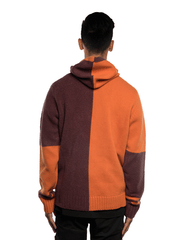 Stone Island 7115509B7 Hooded Knitwear Orange