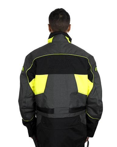 Tech Panelled Jacket Black