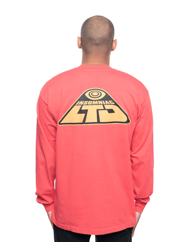 Insomniac LTD Freebasin LS Tee Pink