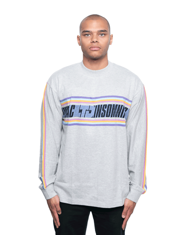 Insomniac LTD Gleamers LS Tee Heather Grey