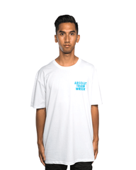 Never Drinking Again Absolut Train Wreck Tee White