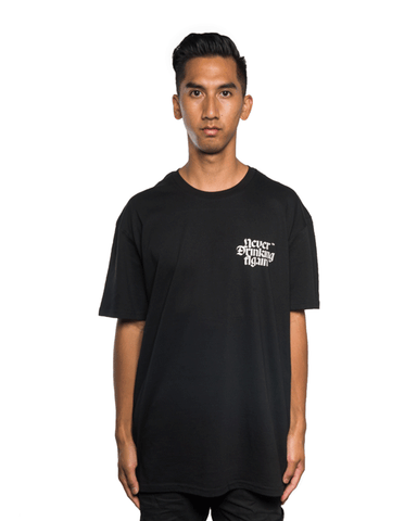 Never Drinking Again Community Assistance Tee Black