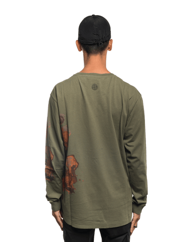 Stone Island ML88 Graphic Long Sleeve Green