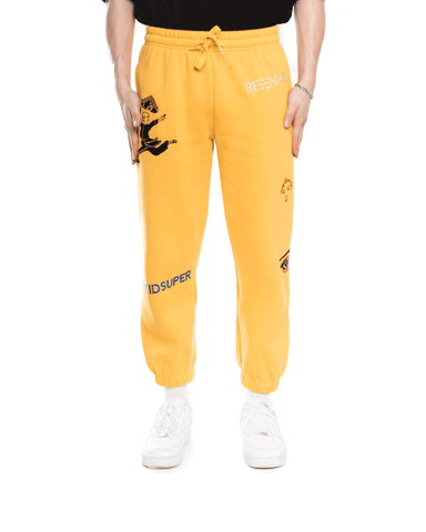 KidSuper Sweatpant Yellow