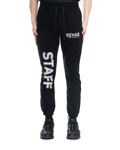 RtA REHAB OWEN Sweatpant Black