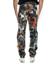 Selfmade Denim Five Pocket Pant All Over Print