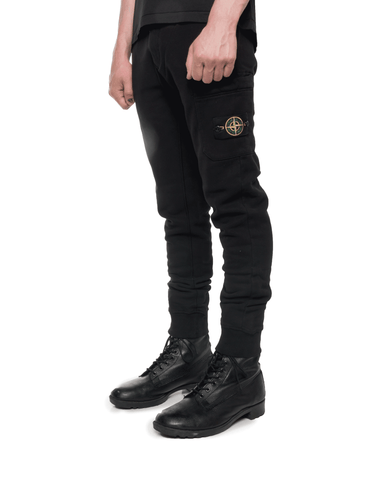 Stone Island MO731564520 Fleece Pants Black