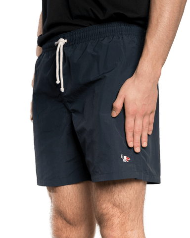 Maison Kitsuné Tricolour Fox Swim Short Navy