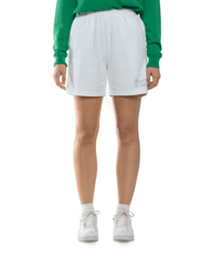 Sporty and Rich Fun Logo Shorts White/Jolly Green