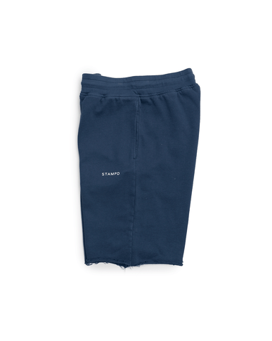 Stampd Classic Logo Sweat Shorts Navy