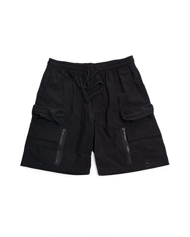 Stampd Helix Cargo Shorts Black