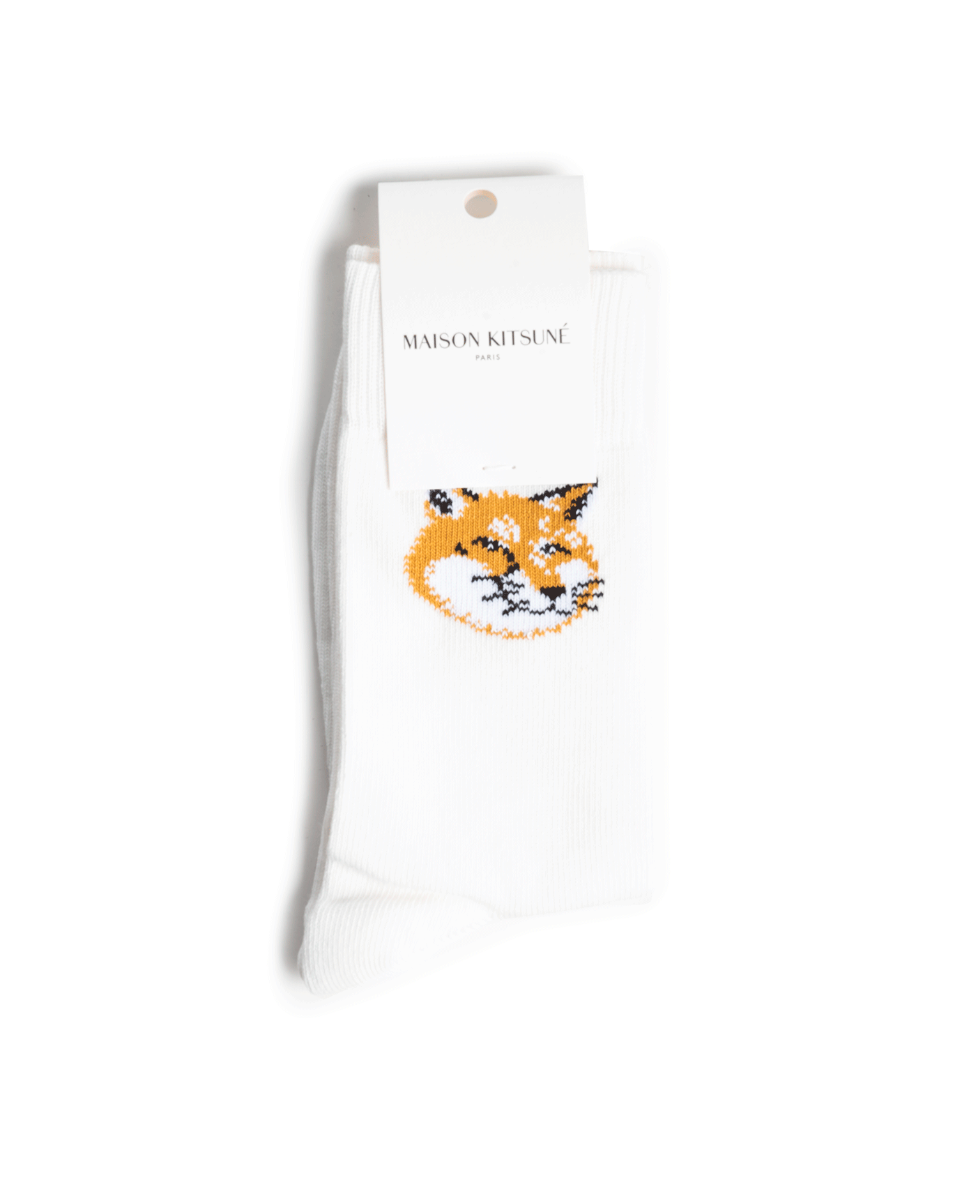 Maison Kitsuné Fox Head Socks