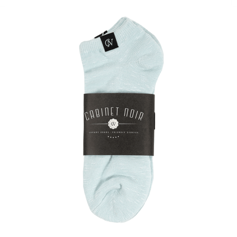 Cabinet Noir x Glen Clyde Ankle Sock 2 Ice Blue