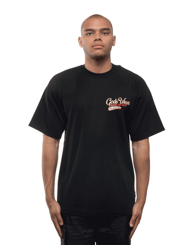 GCDS Sanforized Tee Black