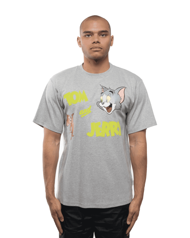 GCDS x Tom and Jerry Tee Grey