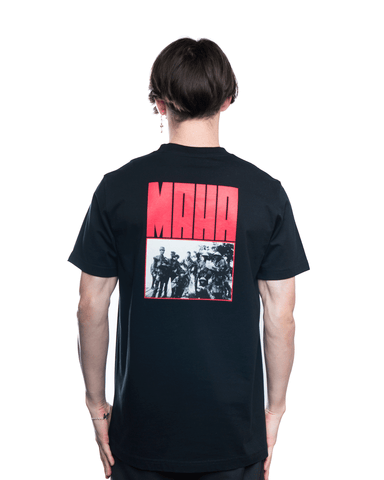 Maharishi World Corps Tee Black