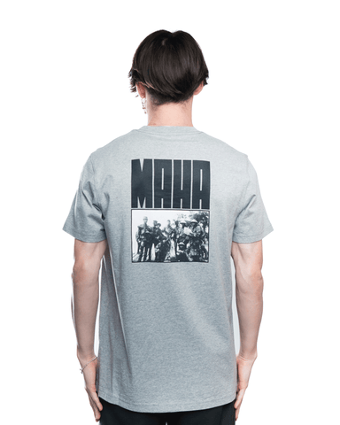 Maharishi World Corps Tee Grey