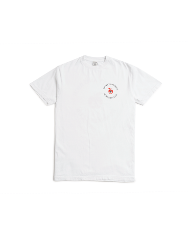 Sporty & Rich Big Apple Tee White