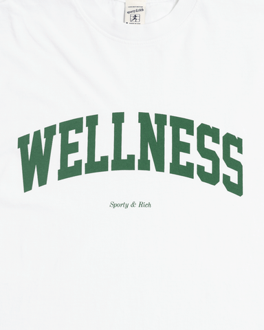 Sporty & Rich Wellness Ivy Tee White