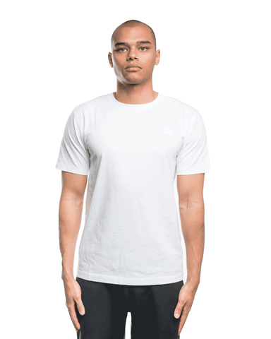 Wood Wood Ace Tee White/White