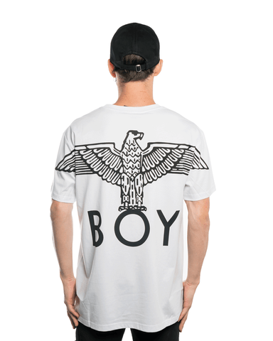 Boy London Eagle Backprint Tee White