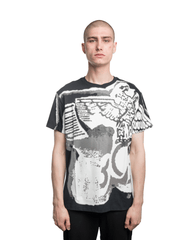Boy London Ink Spray Tee Black