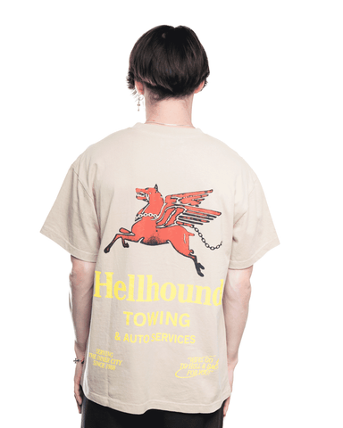 Honor The Gift Hellhound Towing S/S Tee Khaki