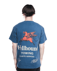 Honor The Gift Hellhound Towing S/S Tee Navy