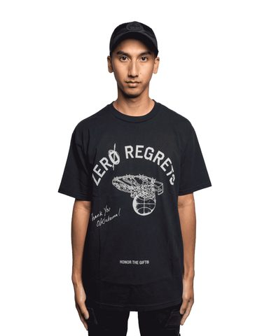 Honor The Gift Zero Regrets Tee Black