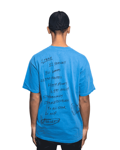 Honor The Gift Zero Regrets Tee Blue