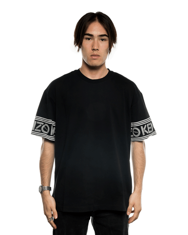 Kenzo Logo On Sleeve Tee Black