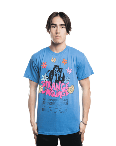KidSuper Strange Language Tee Blue