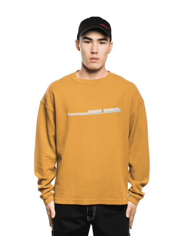 Noon Goons Jetties LS Tee Brown