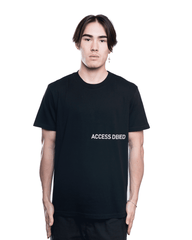 RtA ACCESS DENIED LIAM Tee Black